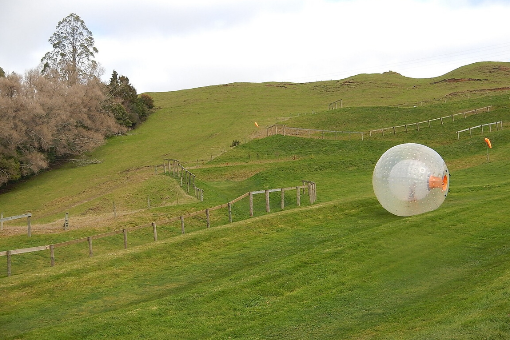 unusual Wedding gifts zorbing