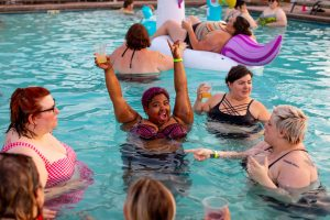 outdoor party ideas for adults pool party